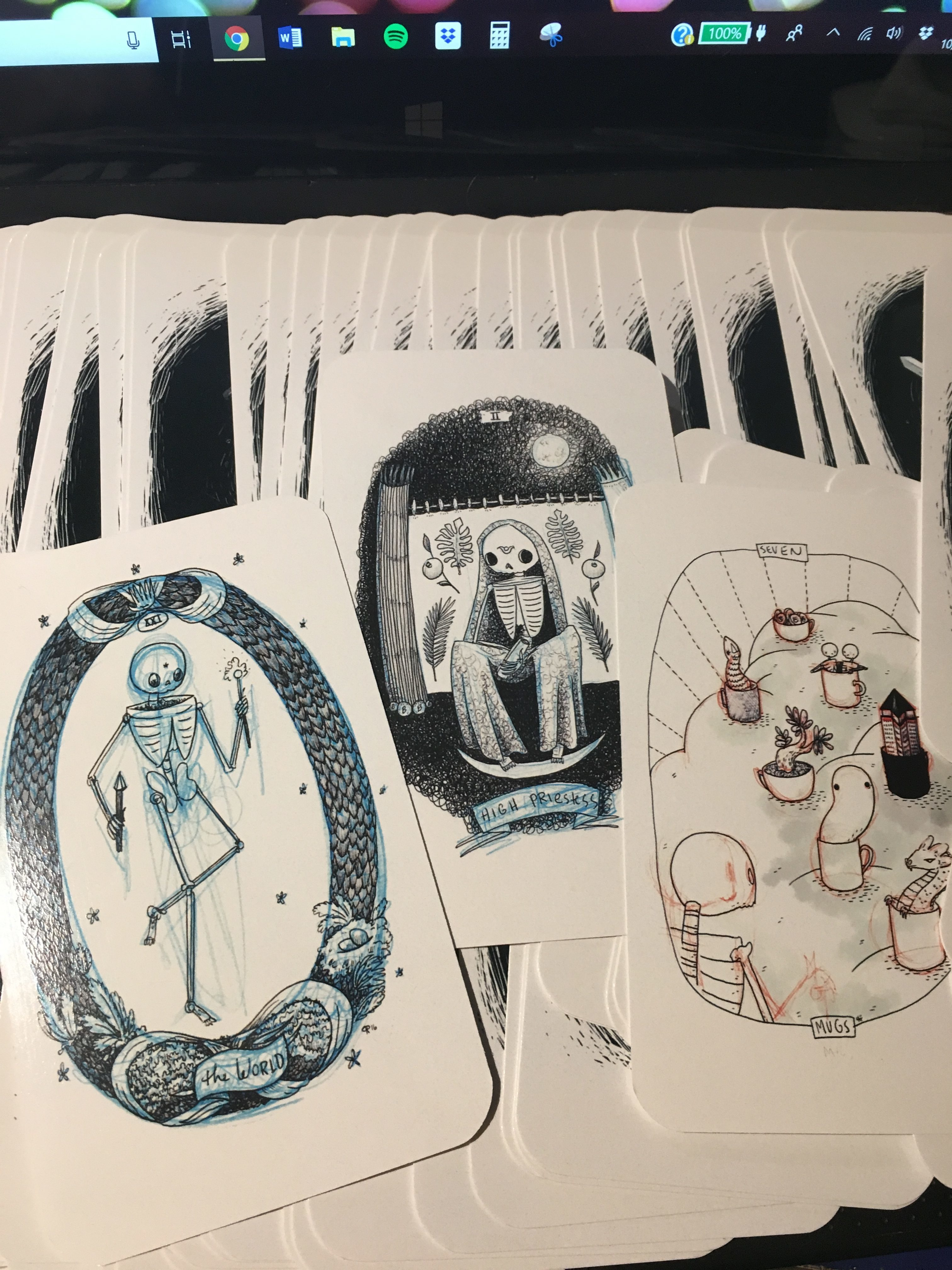 Skeleton Tarot