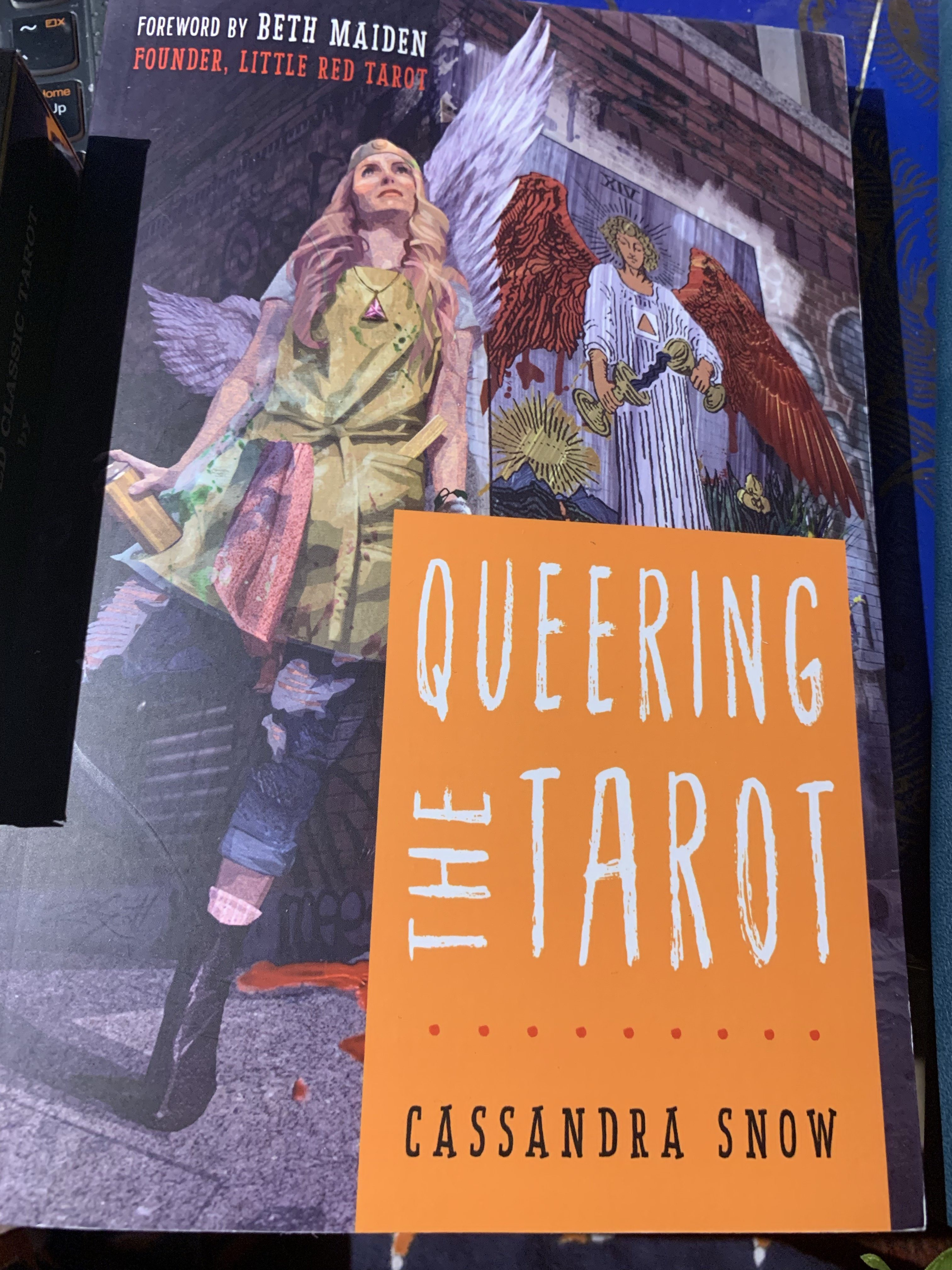 Queering the Tarot by Cassandra Snow | Book Review