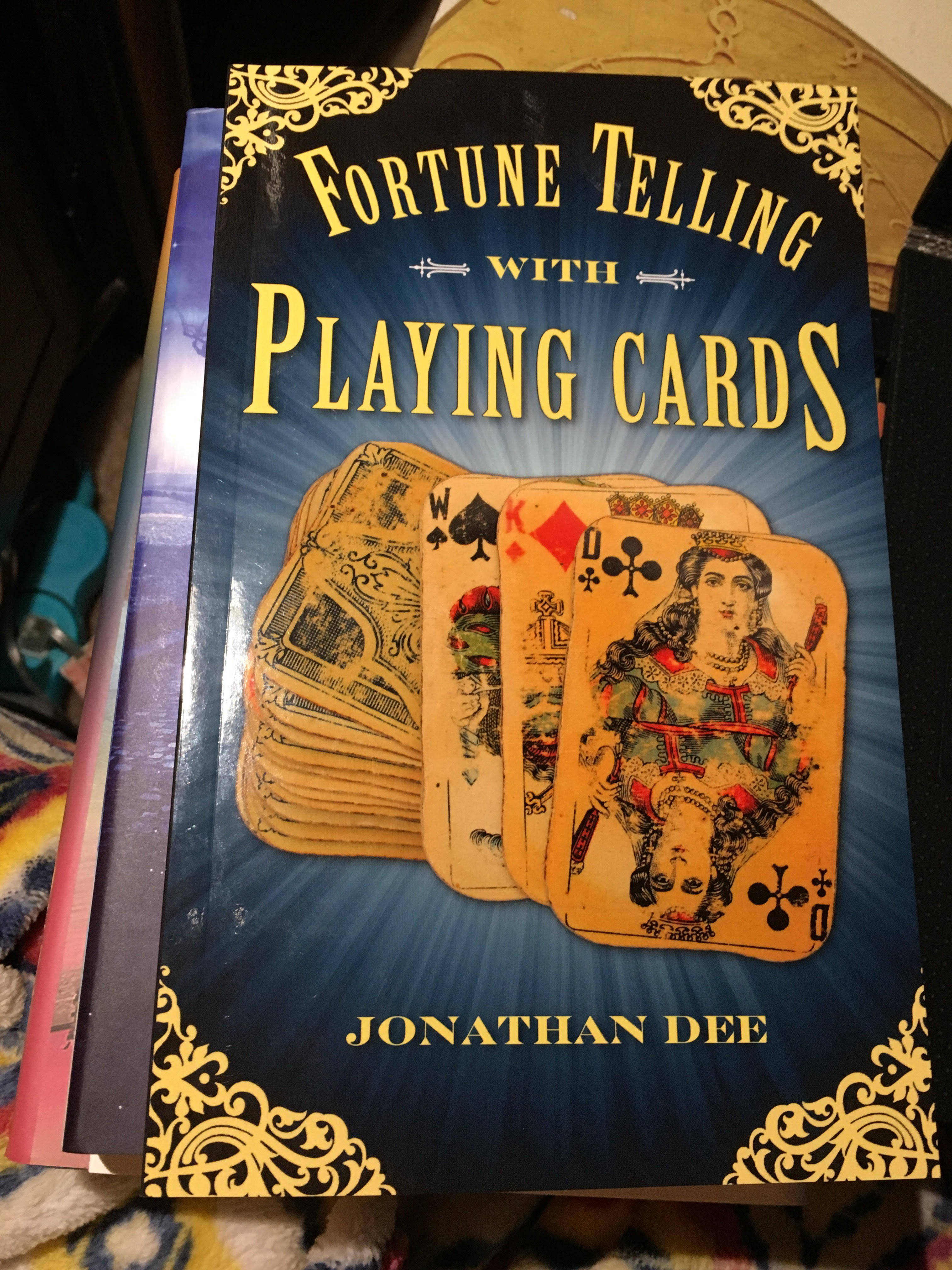 Fortune Telling with Playing Cards by Jonathan Dee | Book Review
